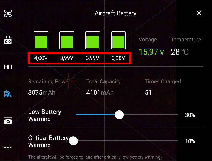 drone bromo 6 - Pembelajaran Drone di Bromo : Low Voltage Warning