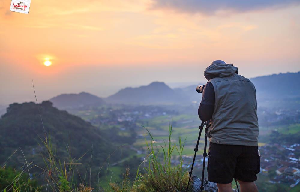gunung gamping sore 11 - Gunung Gamping Karanganyar - Menanti Senja