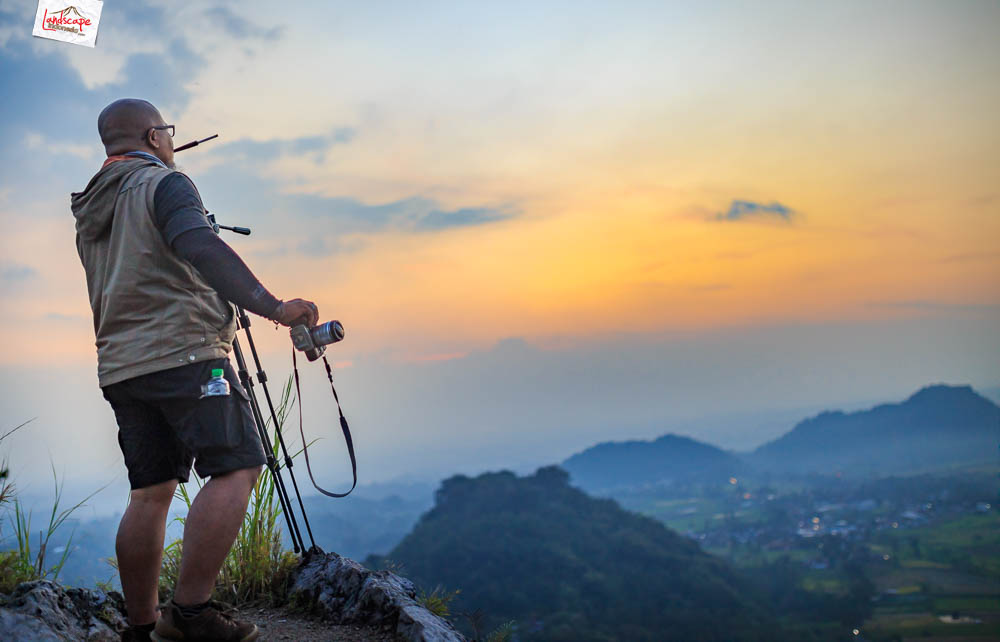 gunung gamping sore 13 - Gunung Gamping Karanganyar - Menanti Senja