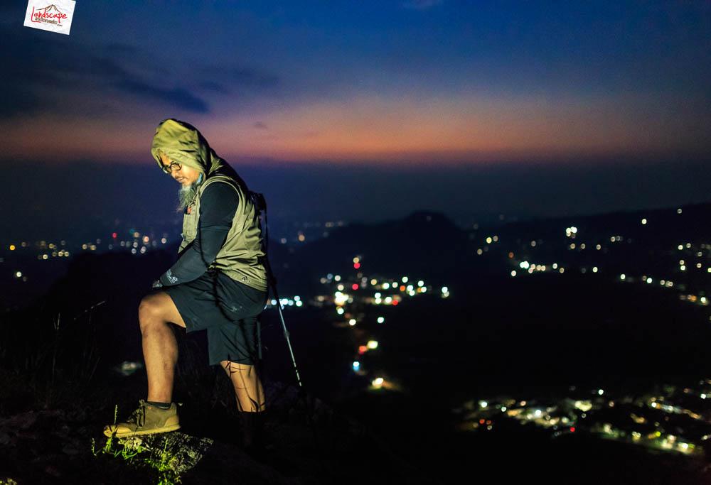 gunung gamping sore 16 - Gunung Gamping Karanganyar - Menanti Senja