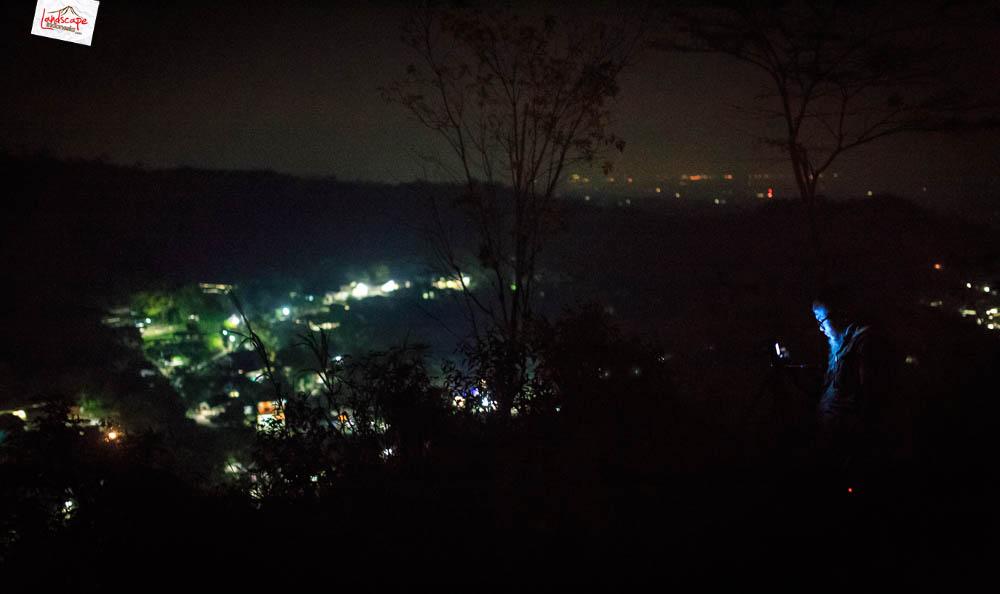 gunung gamping sore 23 - Gunung Gamping Karanganyar - Menanti Senja