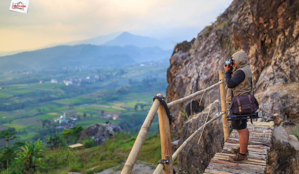 gunung gamping sore 3 - Gunung Gamping Karanganyar - Menanti Senja