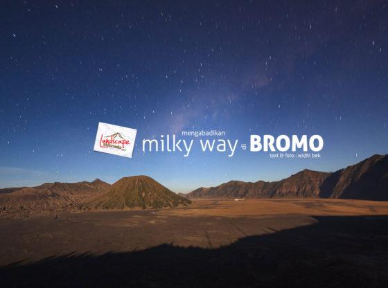 milky way bromo