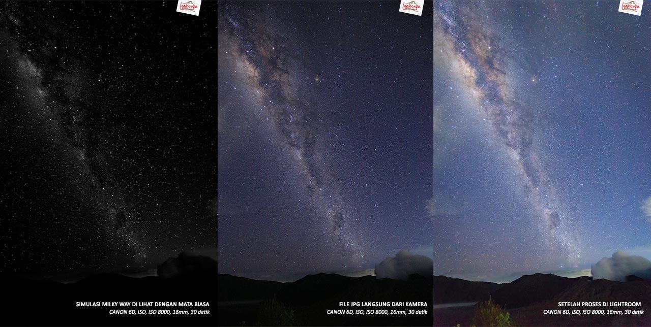 milky way dilihat mata 0a - Milky Way Dilihat Mata Biasa