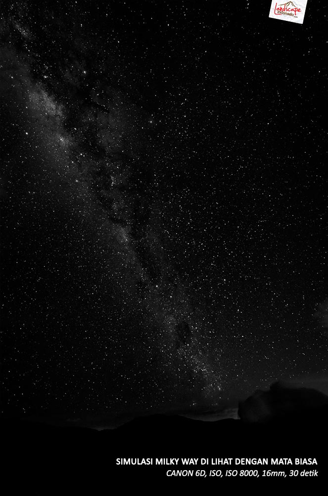 milky way dilihat mata 1 - Milky Way Dilihat Mata Biasa