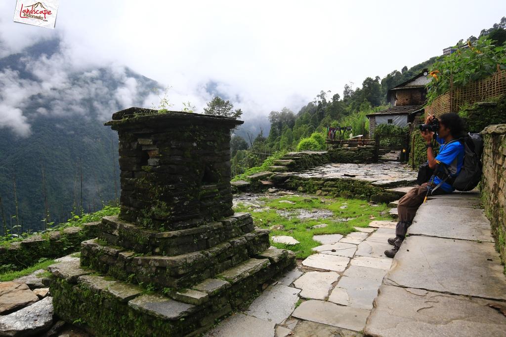nepal chomrong 2 - Annapurna Basecamp hari kelima : Chomrong - Bamboo