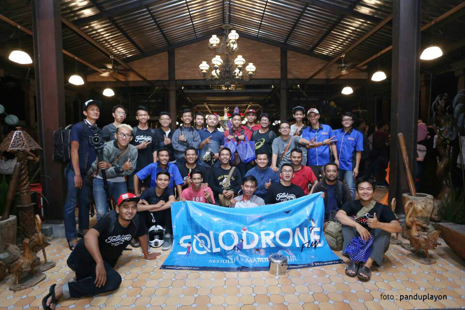 solo drone fly 1 - Buka Bersama Solo Drone Fly