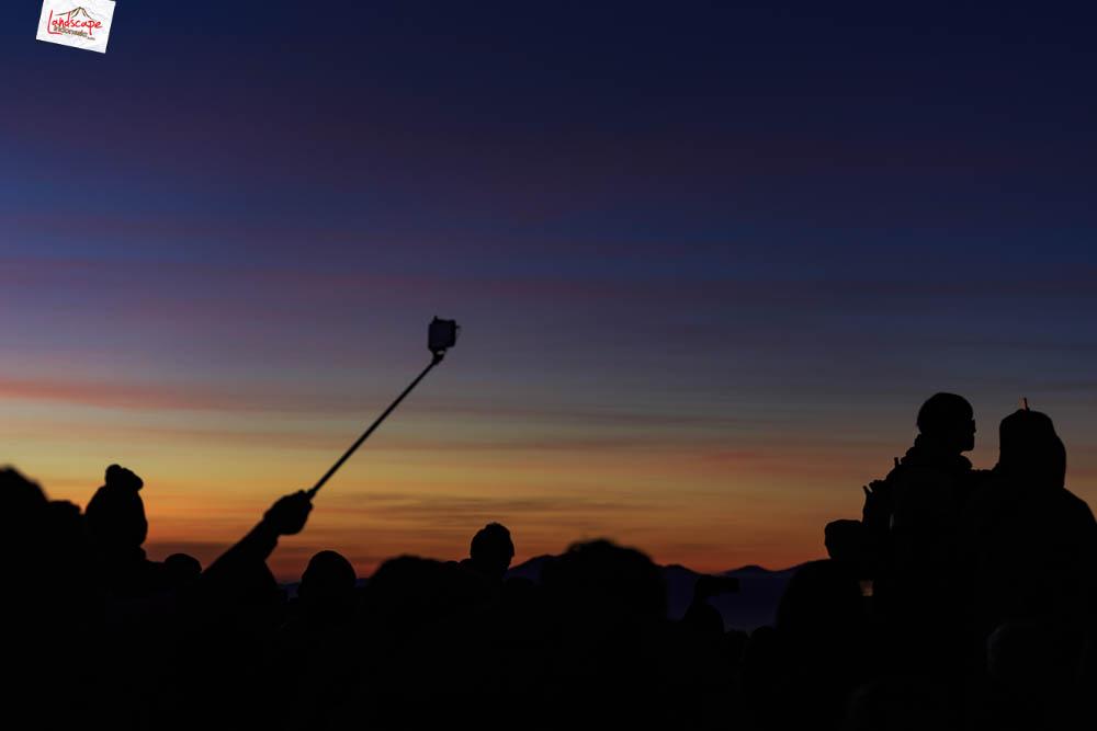 sunrise di pananjakan bromo7 - Sunrise di Pananjakan - Bromo