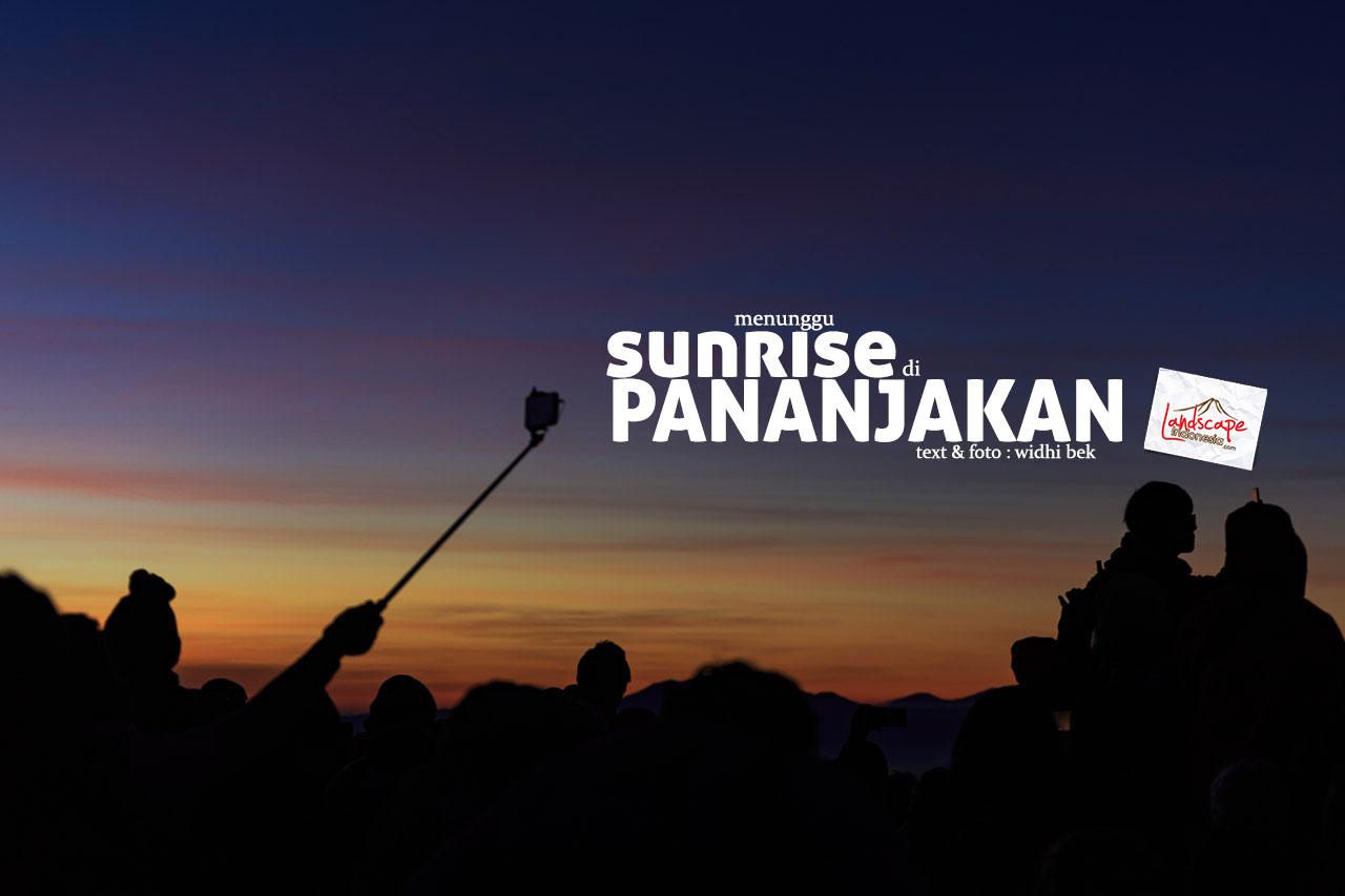 sunrise di pananjakan
