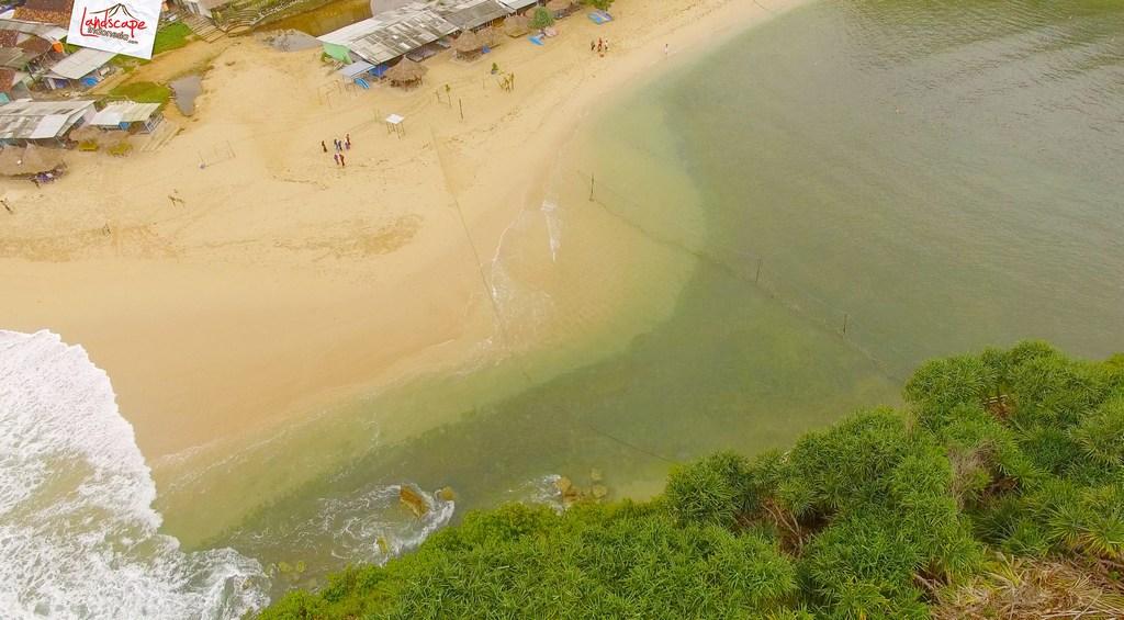 drini dari udara 8 1 - Pantai Drini dari Udara - Surut dan Pasang