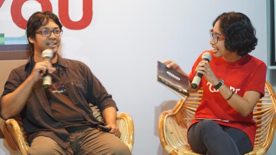 gdc kibar 1 - Sharing Buku dan Virtual Tour Merbabu di Menara Kibar