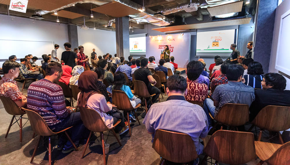 google developer menara kibar 1 - Sharing Buku dan Virtual Tour Merbabu di Menara Kibar