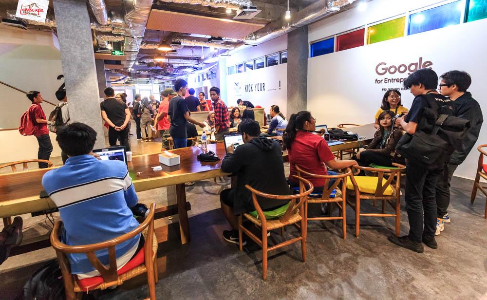 google developer menara kibar 10 - Sharing Buku dan Virtual Tour Merbabu di Menara Kibar