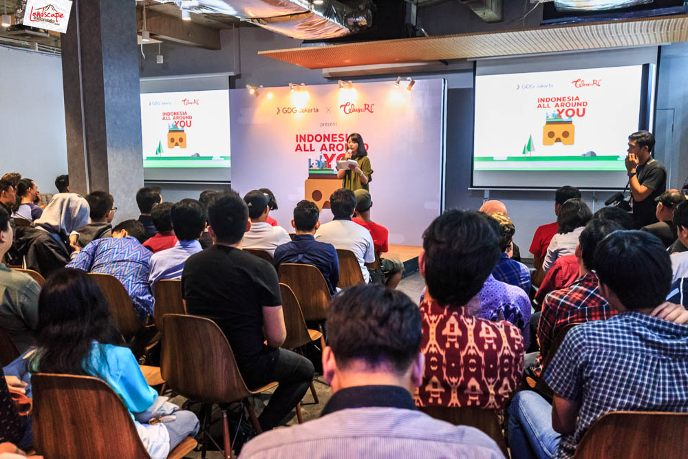 google developer menara kibar 2 - Sharing Buku dan Virtual Tour Merbabu di Menara Kibar