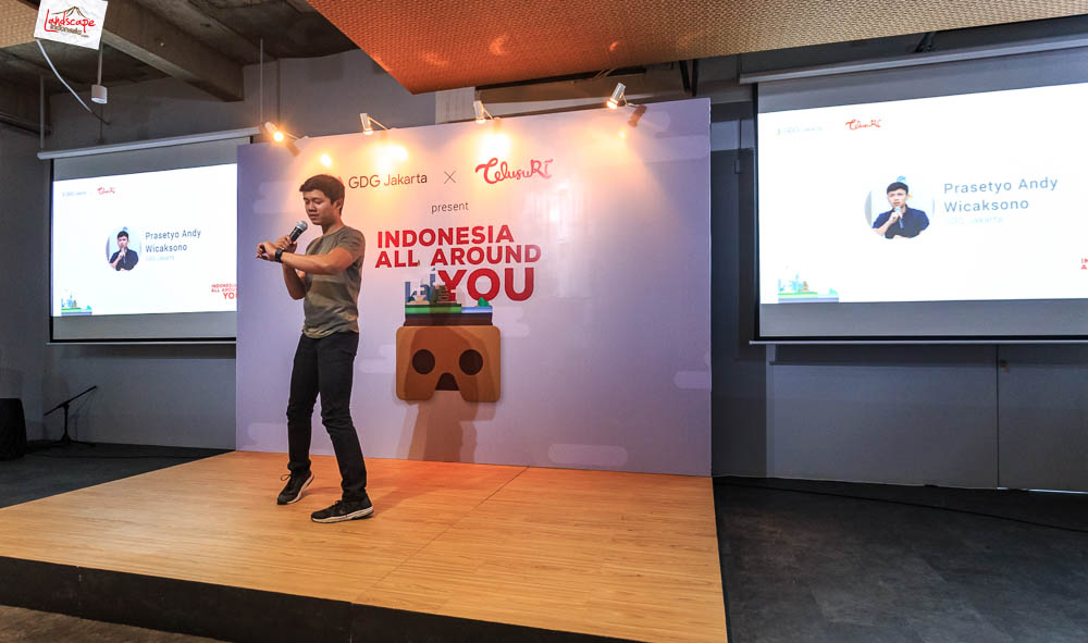 google developer menara kibar 5 - Sharing Buku dan Virtual Tour Merbabu di Menara Kibar