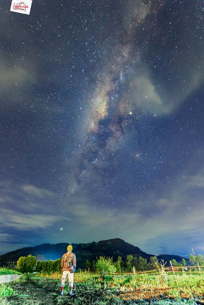 milky way di dieng 1 - Milky Way Dieng : Sejenak Menengok Keluar