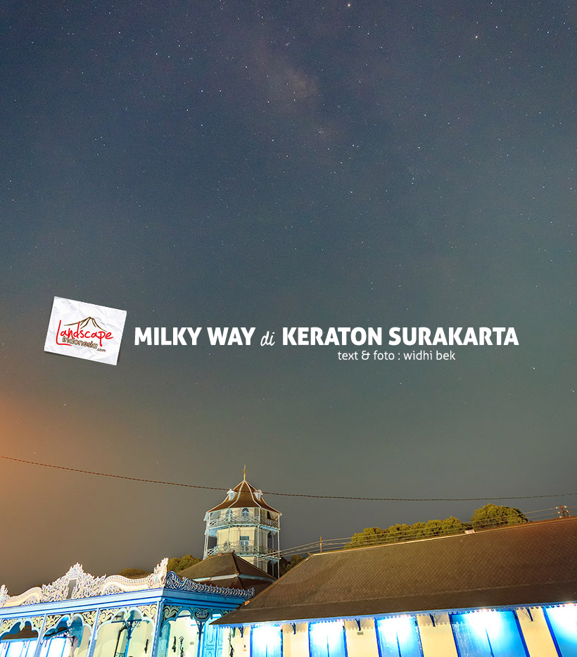 milky way di keraton Surakarta