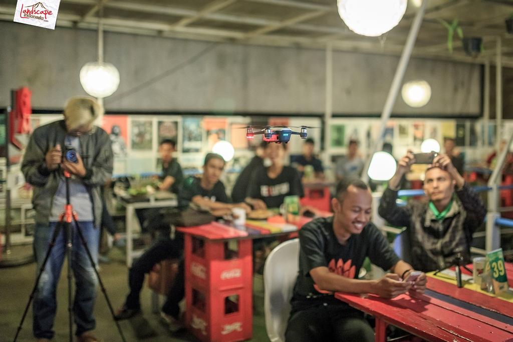 sdf halalbihalal 12 - Dji spark di  Halal Bihalal Solo Drone Fly