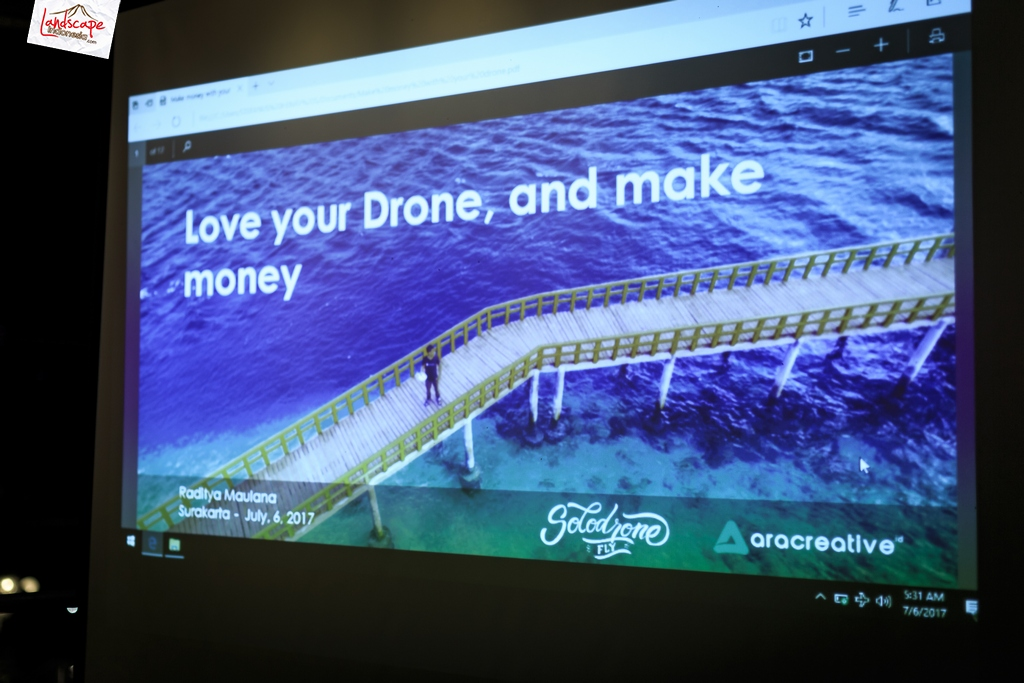 sdf halalbihalal 17 - Dji spark di  Halal Bihalal Solo Drone Fly
