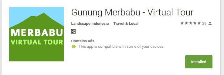Screenshot 785 - Gunung Merbabu Virtual Tour