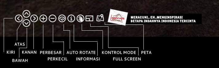 keterangan menu - Gunung Merbabu Virtual Tour