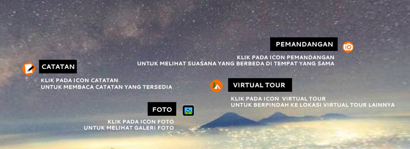 keterangan virtual tour - Gunung Merbabu Virtual Tour