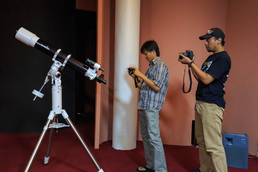 meracuni milkyway 10 - Meracuni Keindahan Milky Way | Planetarium Jakarta
