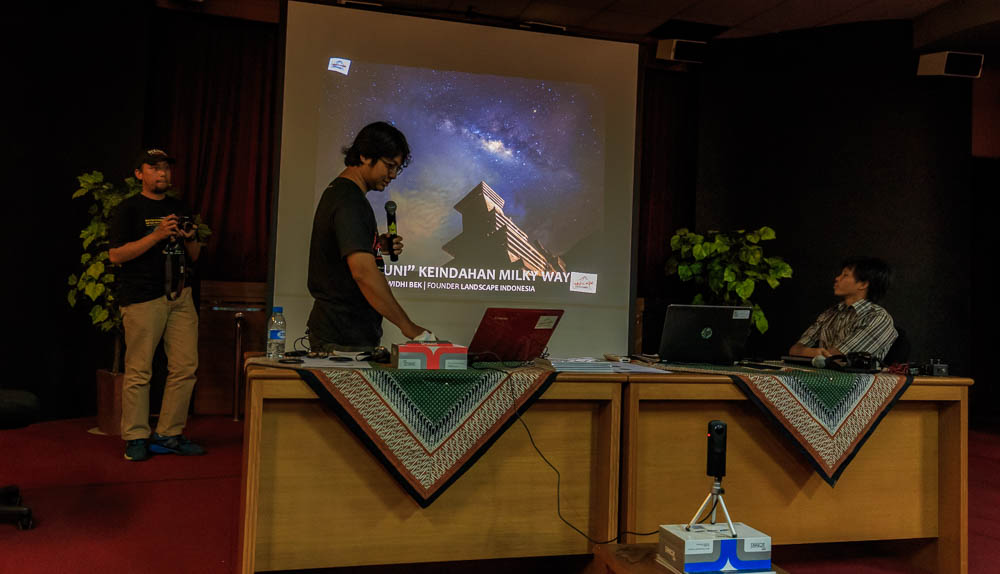 meracuni milkyway 12 - Meracuni Keindahan Milky Way | Planetarium Jakarta