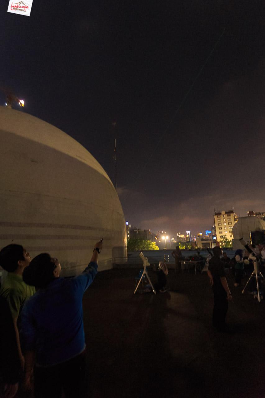 pengamatan gerhana bulan 8 - Pengamatan Gerhana Bulan di Planetarium Jakarta