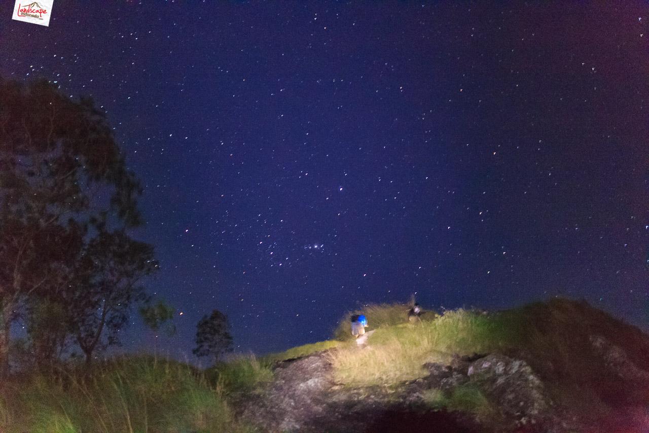 gunung gajah mungkur 5 - Malam Berbintang di gunung Gajah Mungkur