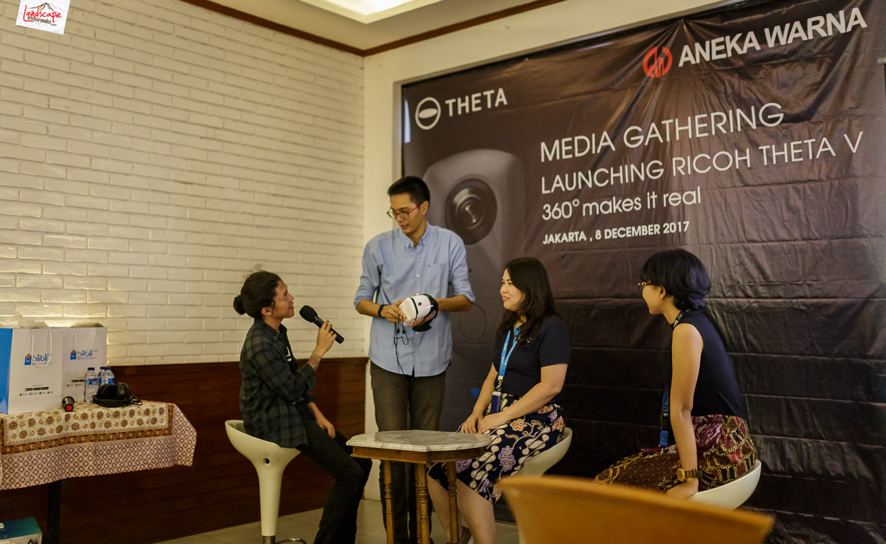 launching theta v di jakarta 3 - Launching Theta V di Jakarta