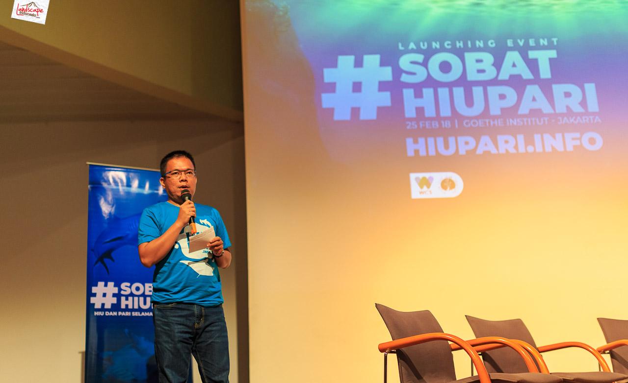 hiupari 1 - Launching Sobat HiuPari