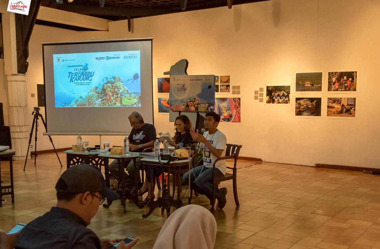 jelajah terumbu karang 6 - Pameran Foto Jelajah Terumbu Karang Kompas