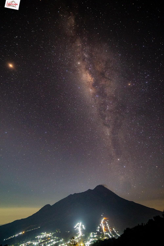 milkyway gancik 02 - Berburu Milky Way di Puncak Gancik