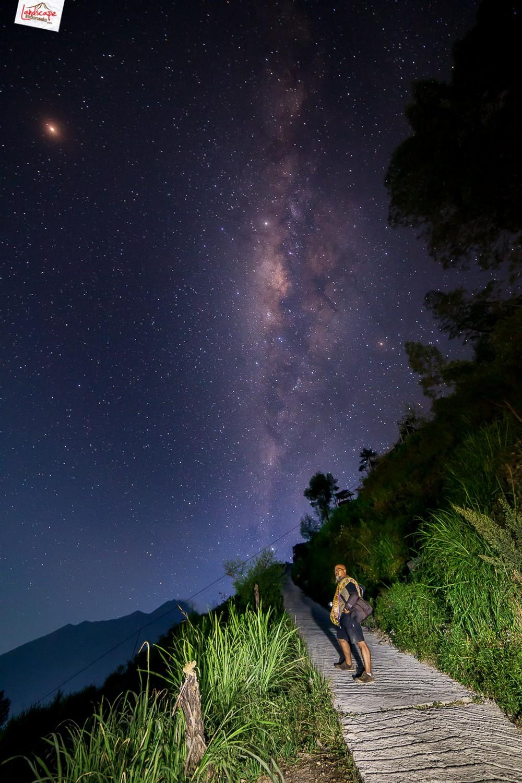 milkyway gancik 03 - Berburu Milky Way di Puncak Gancik