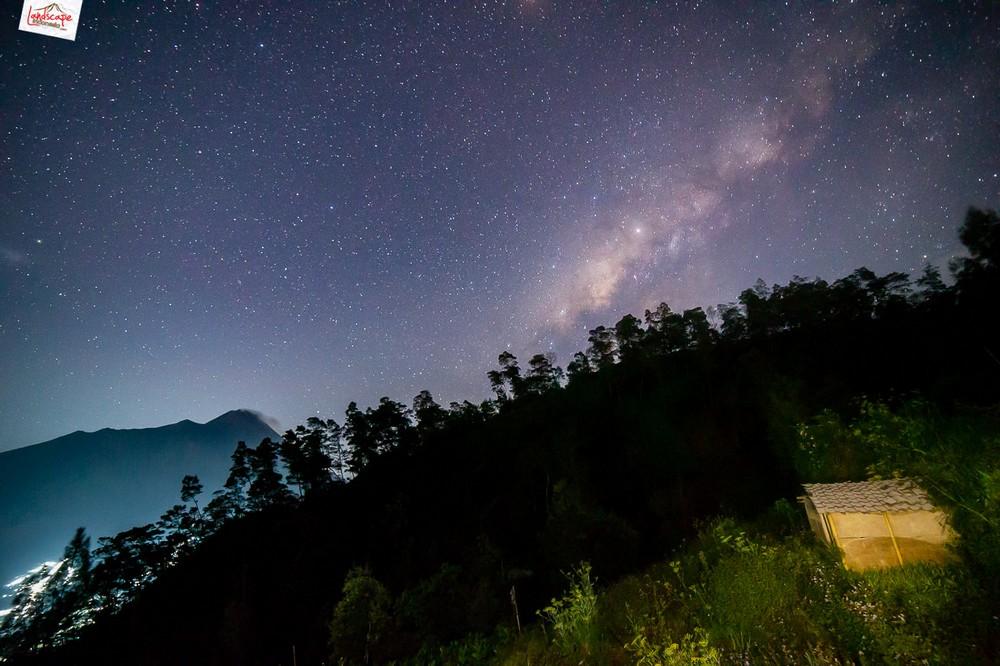 milkyway gancik 06 - Berburu Milky Way di Puncak Gancik