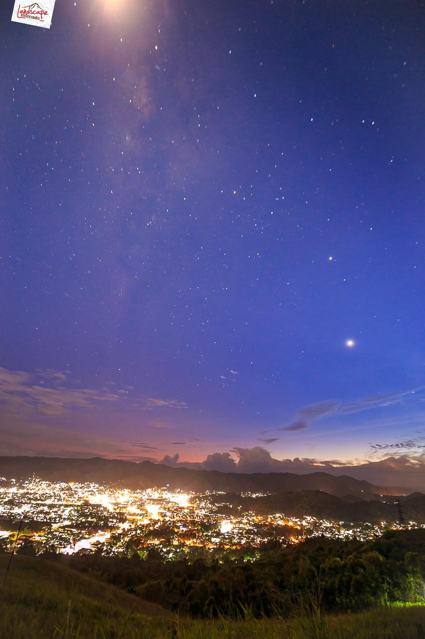 Sepenggal sore di Bukit Skyline