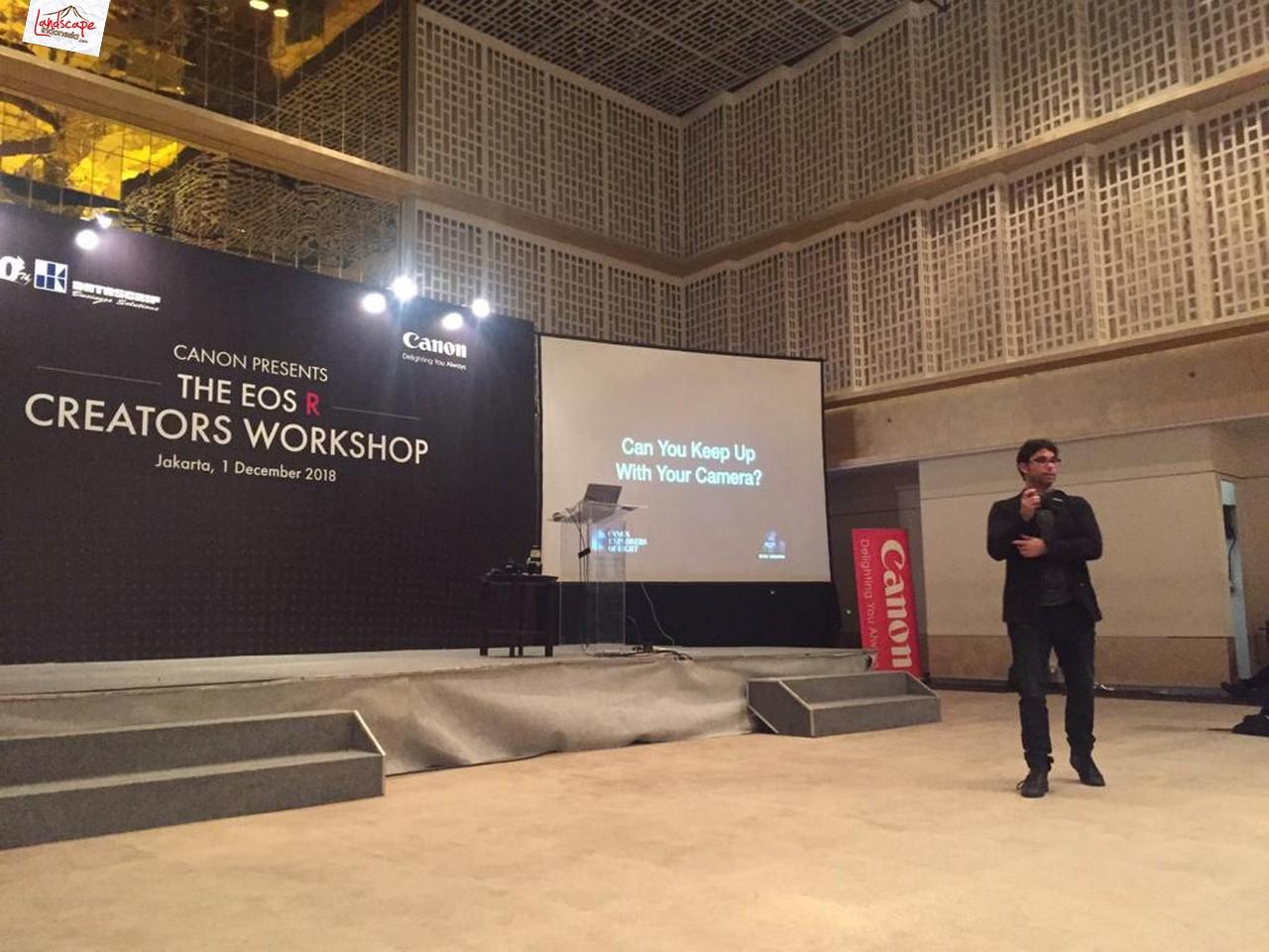 EOS R Creators Workshop