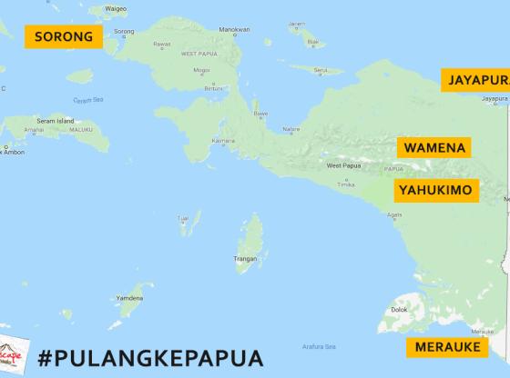 PULANGkePapua - Kaleidoskop Perjalanan 2018