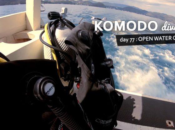 komodo77.mp4 snapshot 00.01 560x416 - Komodo Dive Log Day 77 : Open Water Course