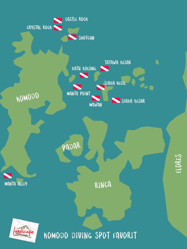 komodo diving spot 768x1024 - Komodo Diving Log Day 100 : Menjajaki Selatan (bagian 1)