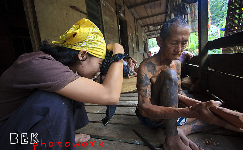 nina in action copy - Widhi Bek : Dengan Kamera Berkeliling Indonesia