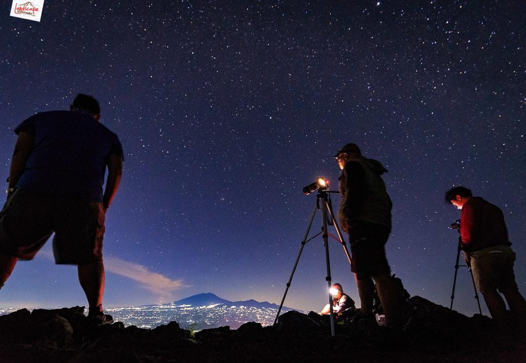 gunung gajah mungkur 20 1024x708 - Panduan Memotret di Gunung Supaya Menghasilkan Foto Berkesan