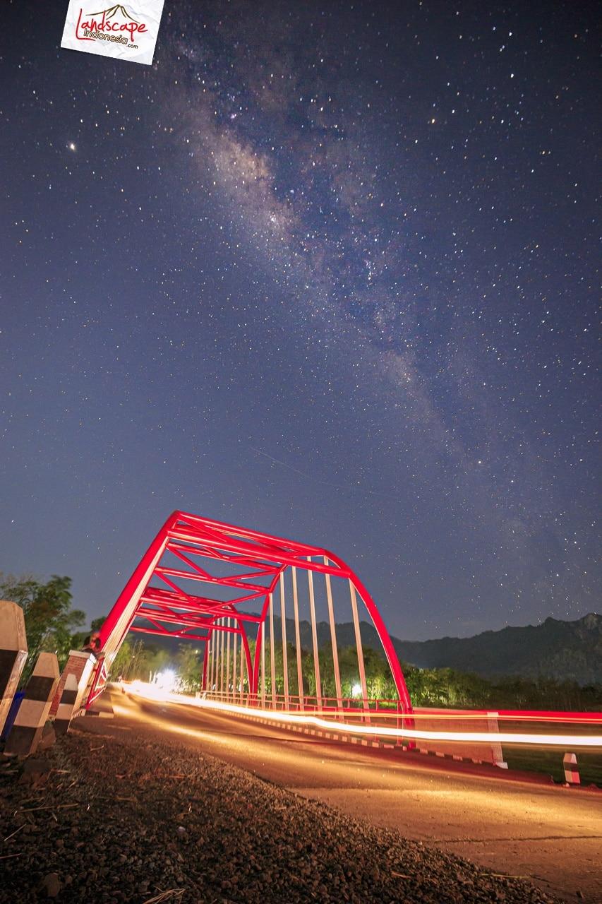 milky way jembatan krisak 9 - Memotret Milky Way Jembatan Krisak