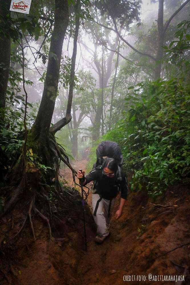 gunung lawu jalur candi cetho 19 - Gunung Lawu Jalur Candi Cetho di Kala Hujan