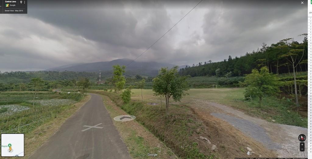kayon google maps 1 1024x523 - Hunting Milky Way Merbabu di Kayon