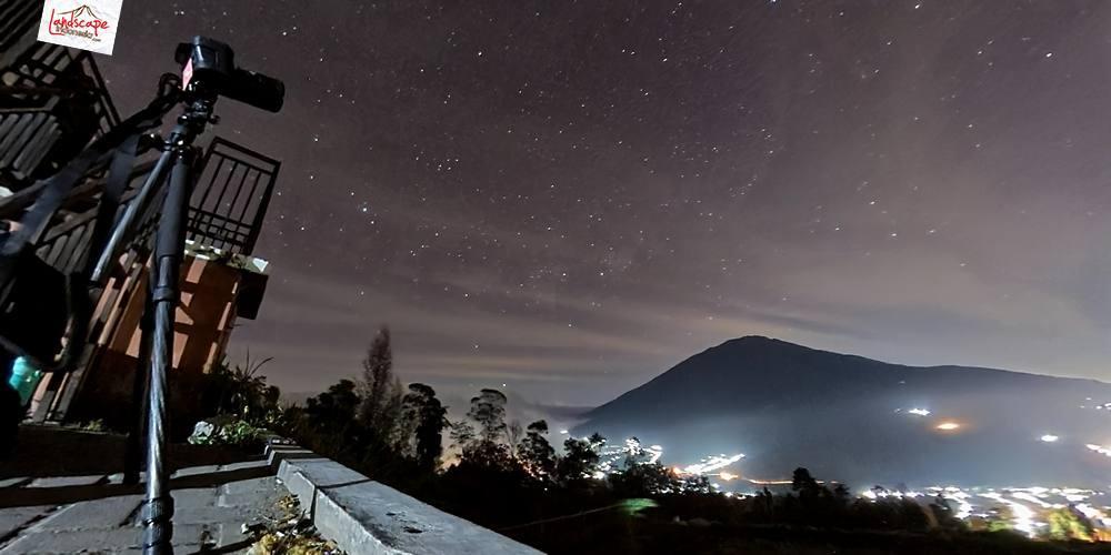 malam di selo 3 - Menikmati Malam Minggu Berbintang di Selo